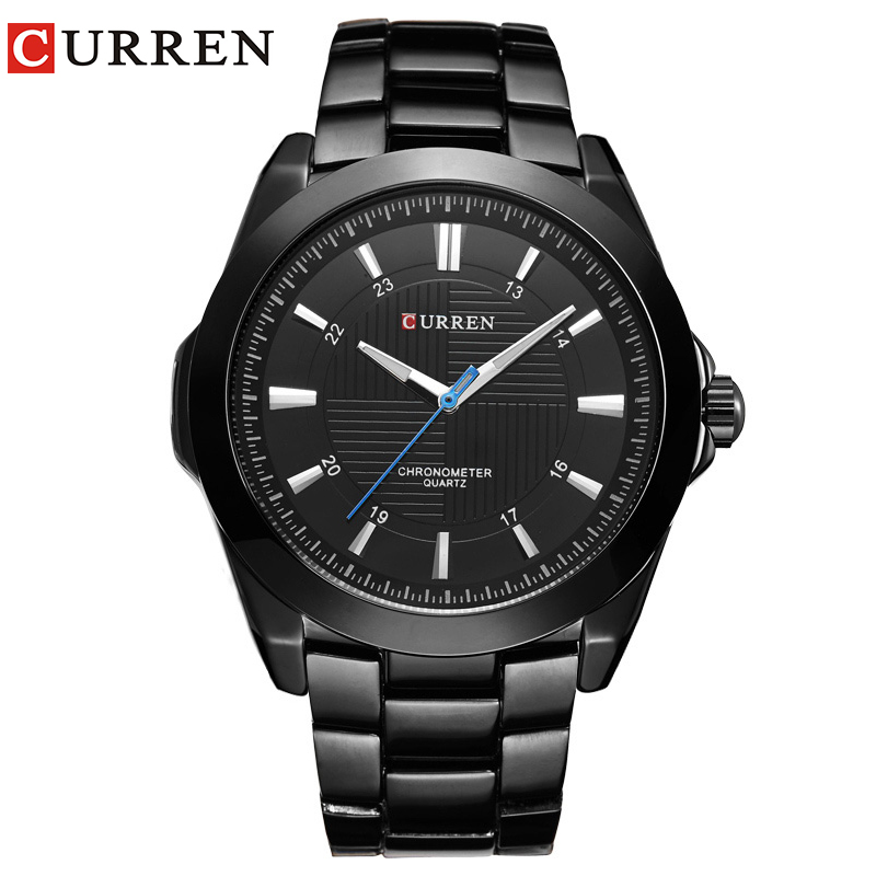 Relogio Masculino CURREN Horloges Heren quartz army horloge Topmerk Waterdichte herenhorloges Heren Sport 8109