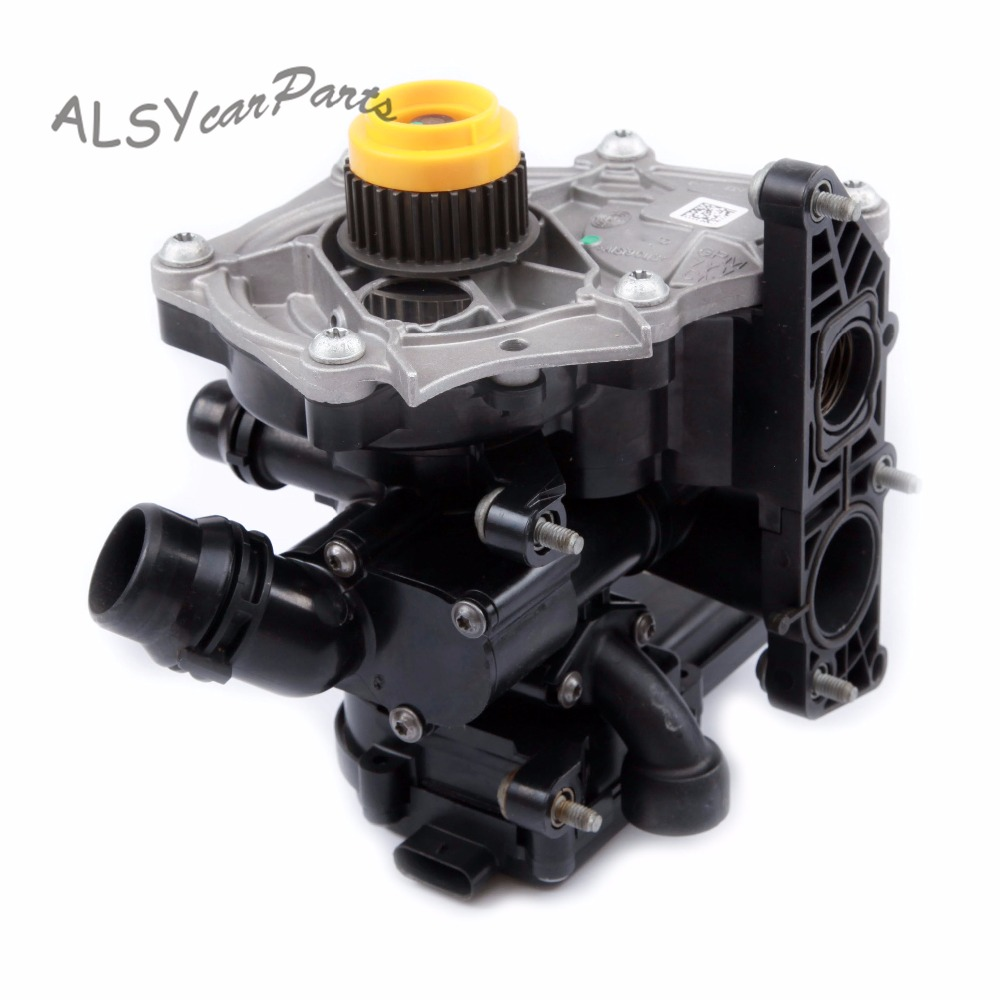 small resolution of aliexpress com buy keoghs 06l 121 111 j electronic water pump thermostat housing assembly for audi a4 a6 q5 q7 tt vw golf mk7 passat b8 1 8 2 0t from