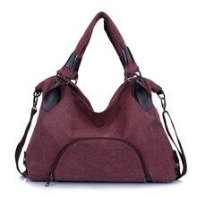 Große Tasche Lässige Damenhandtasche Schultertasche kreuzkörper Handtaschen Leinwand Leder Große Kapazität Taschen für Frauen N392