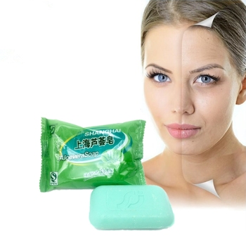 Skin whitening soap handmade soap 85 g ALOEVERA natural skin cleansing & moisturizing refreshing without tension недорого