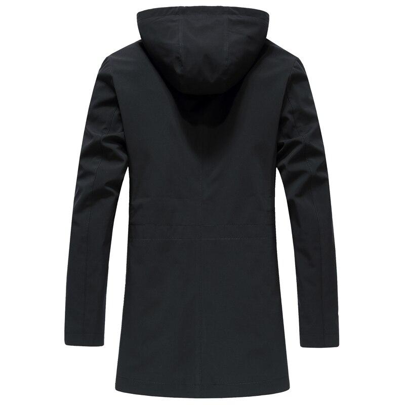 Женская длинная зимняя куртка EURASIA, новая брендовая стильная парка с воротником из натурального меха, плотная верхняя одежда с капюшоном, ... - 3