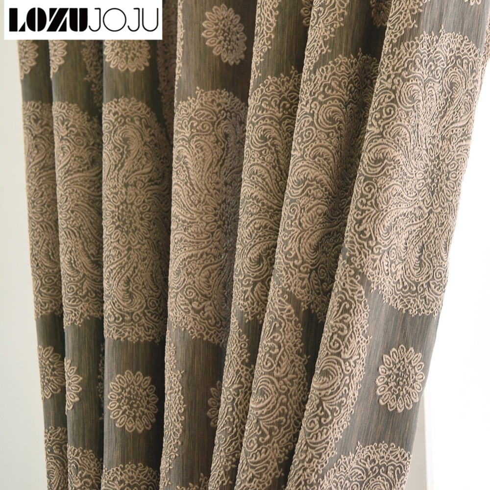 Attrayant Modern Fancy Short Semi Blackout Curtains For Bedroom Living Room Window  Kitchen Door Grommet Top Treatments Cloth