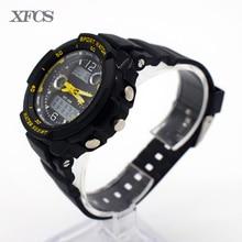 XFCS impermeable reloj de pulsera digital automático relojes para niños digitais running niños digitales reloj con precisión ots ocasionales