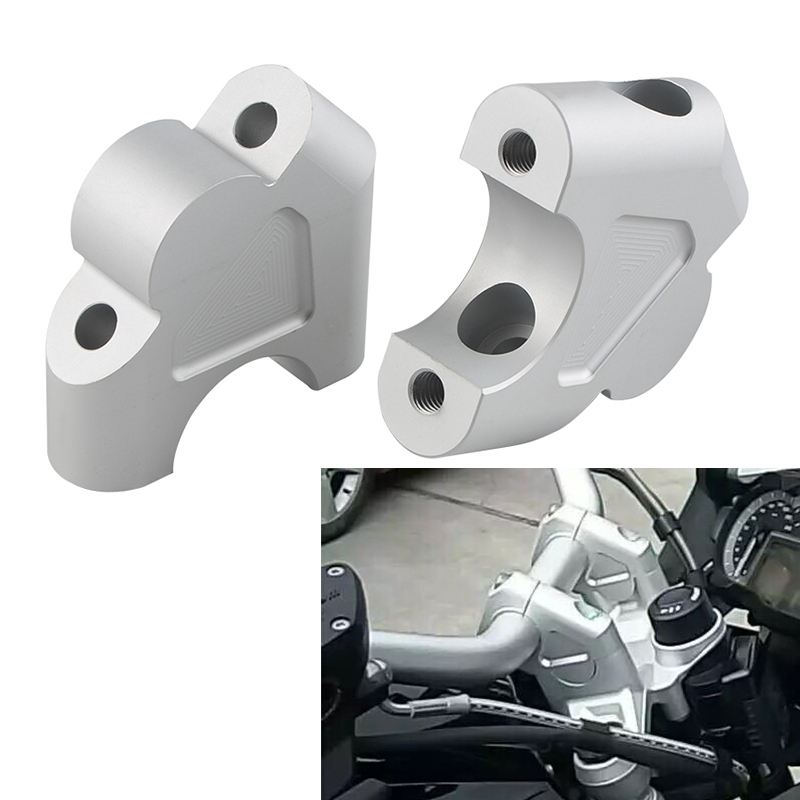 Handlebar Riser Clamp Back Move Mount For <font><b>BMW</b></font> <font><b>R1200GS</b></font> LC Adventure R 1200GS Rallye R 1200 GS ADV R1250GS Motorcycle Accessories image