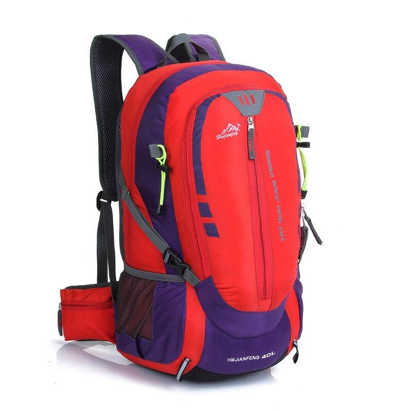 Huwaijianfeng Mochila Multifunktionale Wasserdichte Mode Kapazität Red Laptop Taschen Rucksäcke Große Rucksack Männlichen Reise Männer nxnTZCa