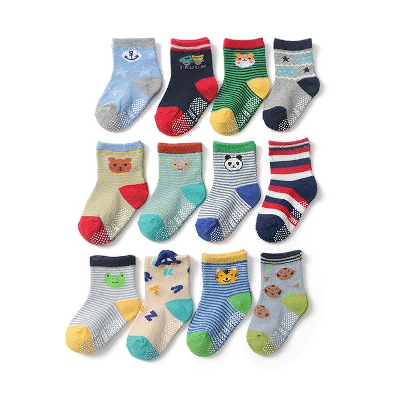 12 Paare/los 2019 Neue 1-3 Jahre Britischen Stil Säuglings Socken Jungen Socken Kinder Socken Baby Socke