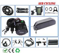 ЕС США нет налогов и доставка Bafang BBSHD 48 В 1000 Вт середине кривошипно двигателя комплекты с 52 В 17.5Ah литий ионный Электрический велосипед аккуму
