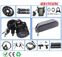 EU US no taxes and shipping Bafang BBSHD 48V 1000W mid crank motor kits with 52V 17.5Ah Lithium ion electric bike battery pack цены
