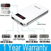 Charge 11 Times For IPhone 5 5S Power Bank 20000mah Cheaper Than Anker External Backup Battery