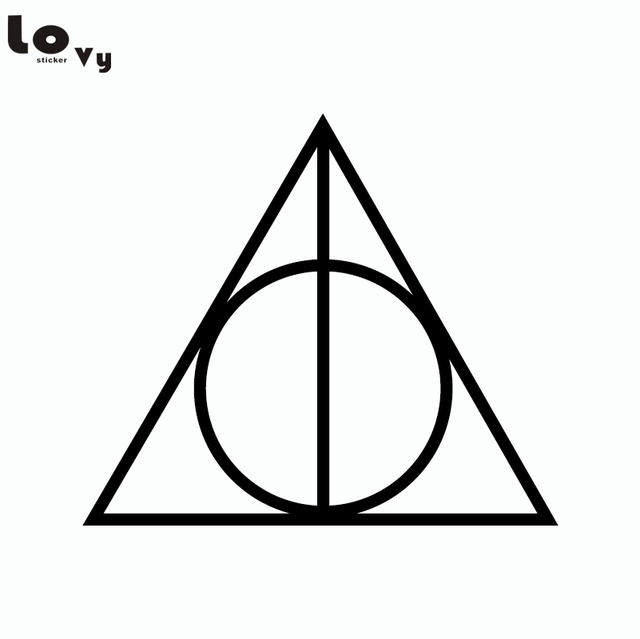 Classic Movie Harry Potter Deathly Hallows Vinyl Wall