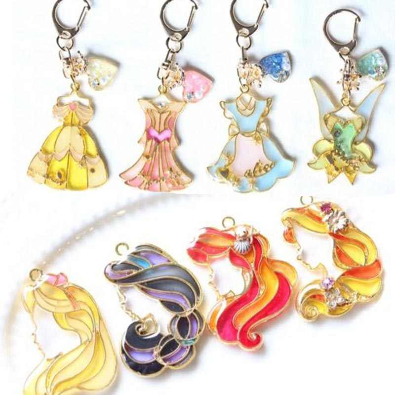 5pcs/lot princess shape Resin Open Bezel Metal Charm Pendant Key Frame Pendant  UV Resin  Earring Findings DIY resin crafts