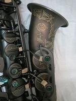 France Selmer 802E Flat Alto Saxophone Matt Black And Accessories Top Musical Instruments Professional Free Shipping