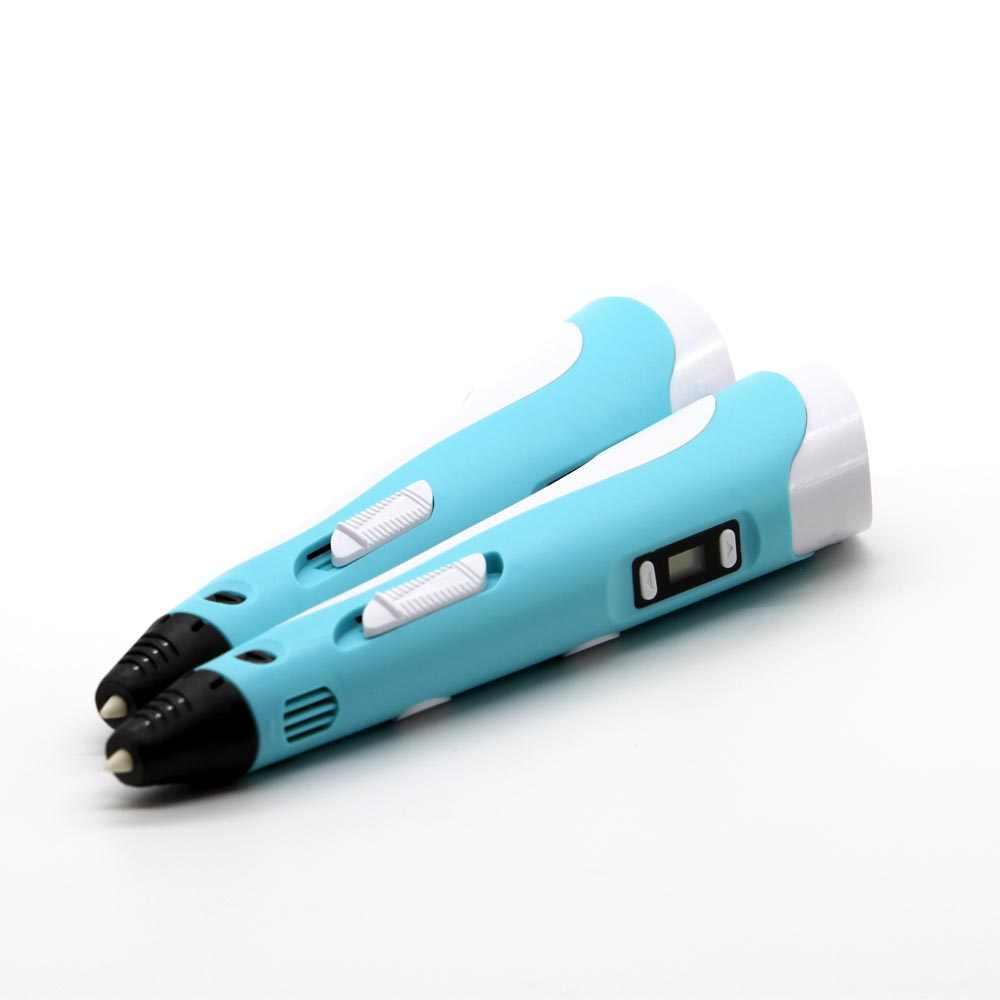 3D Pena Scribble 9 Meters PLA Filamen 3D Printer Pena Hadiah Ulang Tahun 1.75 Mm ABS 3D Printing Pen Untuk Sekolah lapiz 3D Gadget RP100B