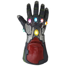Avengers 4 Endgame Iron Man Infinity Gauntlet Cosplay Arm Thanos Latex Gloves Arms Mask Marvel Superhero Weapon Party Toys