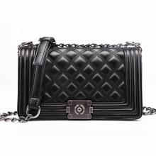 Diamond Lattice Women Bag Designer Handbags High Quality Lady Quilted Plaid Shoulder Crossbody Bags Leather Women Messenger Bag