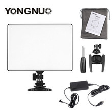 YONGNUO YN300 الهواء YN 300 الهواء برو كاميرا ليد الفيديو الضوئي الفيديو ضوء التصوير + AC محول الطاقة مجموعة الشاحن لكانون نيكون