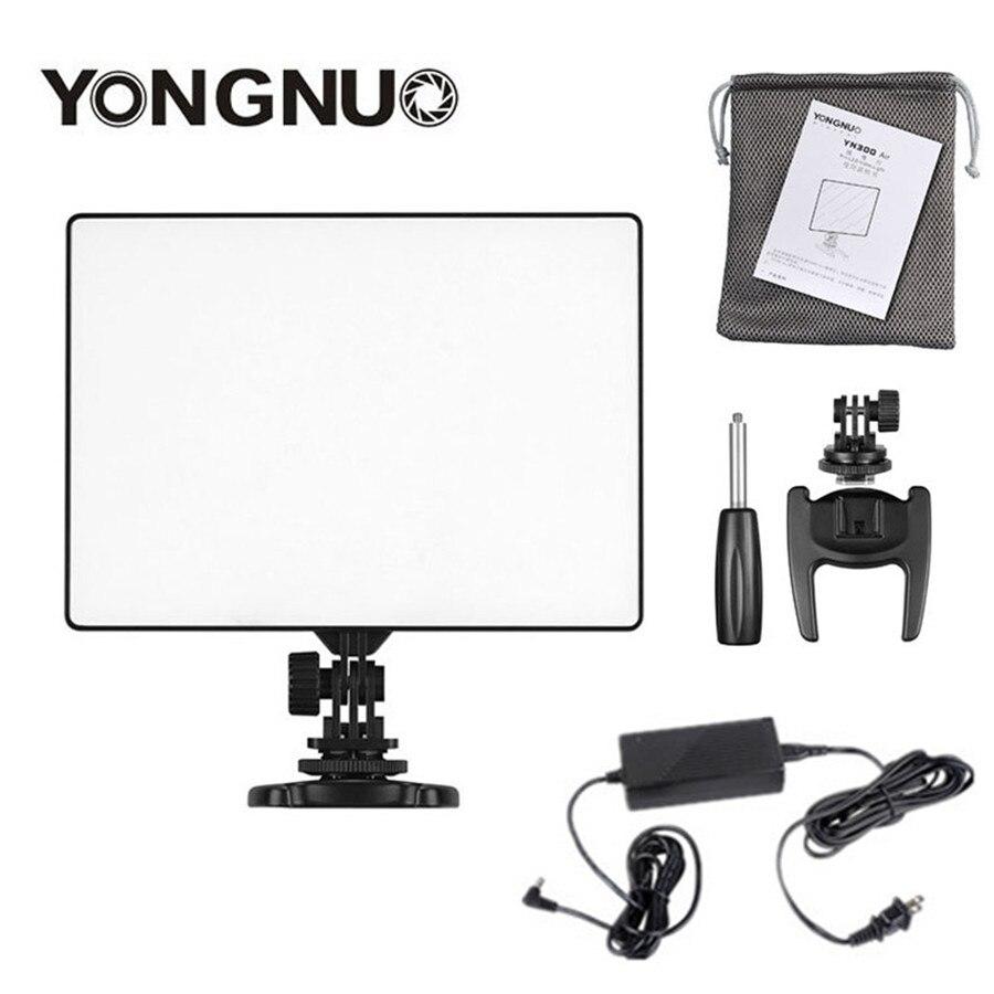 YONGNUO YN300 air YN-300 air Pro светодиодный свет камеры видео фото свет + адаптер переменного тока зарядное устройство Комплект для Canon Nikon