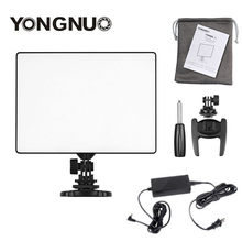 YONGNUO YN300 YN-300 ar air Pro LED Câmera De Vídeo Luz de vídeo fotografia Luz + AC Power adapter kit Para canon Nikon