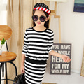 4 6 8 10 12 14 Years Girls Dresses Spring Autumn Long Sleeve Cotton Stripe Dresses For Girls Casual Clothes Children Girls Dress