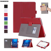 Leather Case For Huawei MediaPad M3 Lite 10 Flip Stand Cover Wallet Case For Media Pad