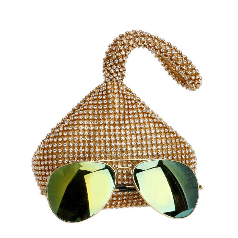GLOIG Новое поступление мягкий Для женщин вечерние сумки Стразы маленький Ежедневные клатчи серебристый, черный золотого цвета с украшением в виде кристаллов Свадебная вечеринка Сумки кошелек