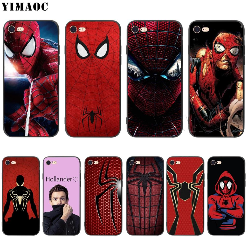 spiderman iphone xs case