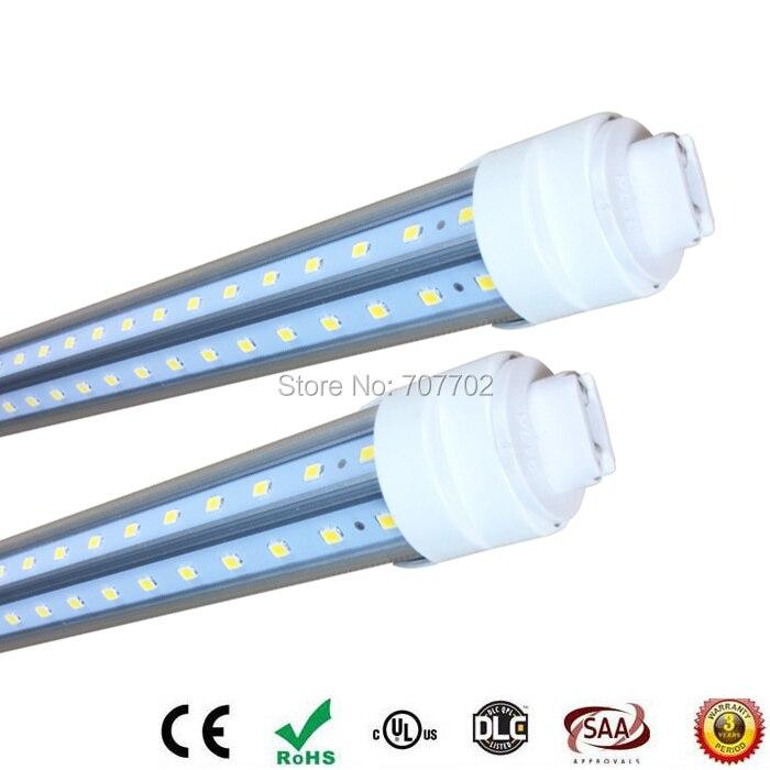 8 Ft 2 Lamp Fluorescent Strip Light White No Ssf2964wp 8ft: 8 Ft LED Tube Light 2.4m 8ft R17D V Shape Cooler Door Tube