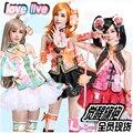 LOVE LIVE Minami Kotori/Kousaka Honoka/Nozomi Tojo 9 Hermanas Despertar UR Uniformes Cosplay Cheongsam + Medias