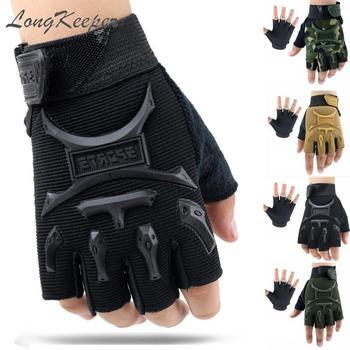 LongKeeper 4-13Y Kids Half Finger Gloves Children Anti-slip Breathable Mittens Sport Short Guante 4 Colors Luvas Boys Girls 13y ga46nnbmb3sr4lv0 0 13y page 4
