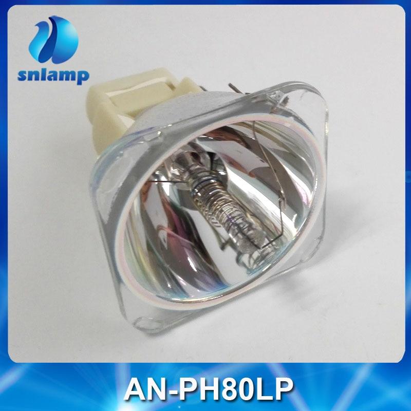 Original Projector Lamp Bulb AN-PH80LP for XG-PH80X/XG-PH80W/XG-PH80WA/XG-PH80WG/XG-PH80X-N/XG-PH80W-N/XG-PH80XA compatible projector bulb with housing an xr30lp fit for xg f260x xg f261x free shipping