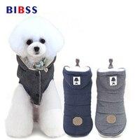 Winter Warme Haustier Hund Kleidung Baumwolle Mit Kapuze Dicke Katze Welpen Hunde Mantel Jacken Pet Kleidung Kostüm S-XXL Größe
