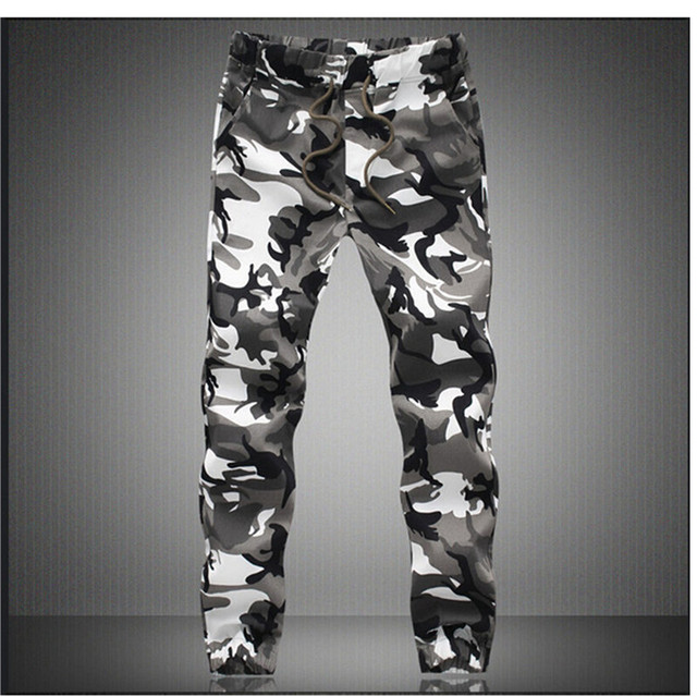 M-5X 2020 Mens Jogger Autumn Pencil Harem Pants Men Camouflage Military Pants Loose Comfortable Cargo Trousers Camo Joggers 4
