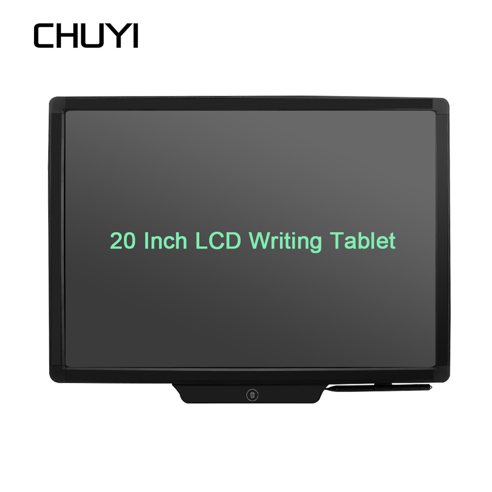 20 inch LCD Writing Tablet Paperless Graphic Drawing Tablet Electronic Handwriting Pads Notepad Message Board for Office/School 8 5 inch frog handwriting tablet board lcd writing tablet graphic drawing board for kids xxm8