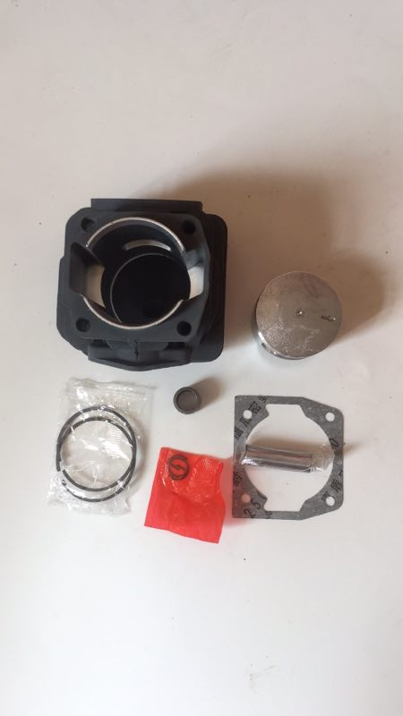 Image 5 - 58cc Chainsaw cylinder and piston full set 5800 Chain saw cylinder kit cylinder dia 45.2mmPower Tool Accessories   -