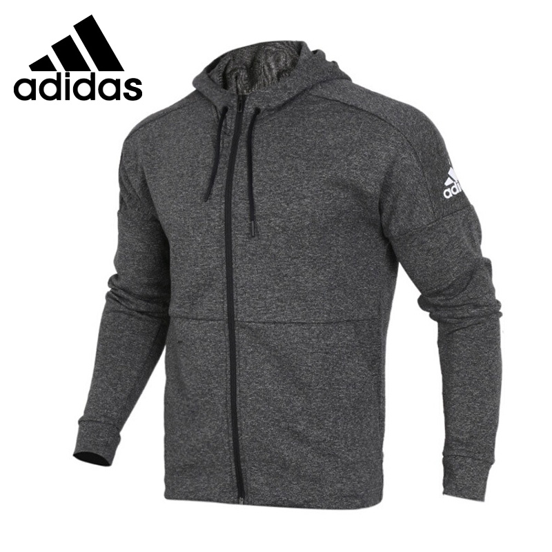 Original New Arrival 2018 Adidas M ID STADUIM FZ Men's  jacket Hooded Sportswear adidas original new arrival official neo women s knitted pants breathable elatstic waist sportswear bs4904
