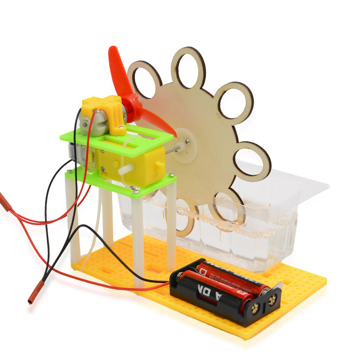 DIY Electric Bubble Machine Science Small  Invention  Manual Assembly Material Puzzle Toy