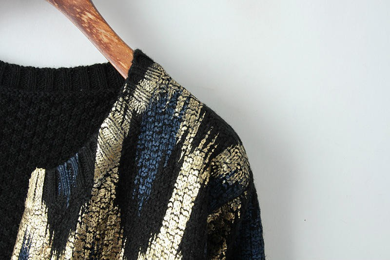 HTB1oKjiJFXXXXadXVXXq6xXFXXX2 - 2015 Autumn New The peacock printing Knitting Long Cardigan Ladies Sweater Women Coat Outwear Snake Pattern Bronzing Tops