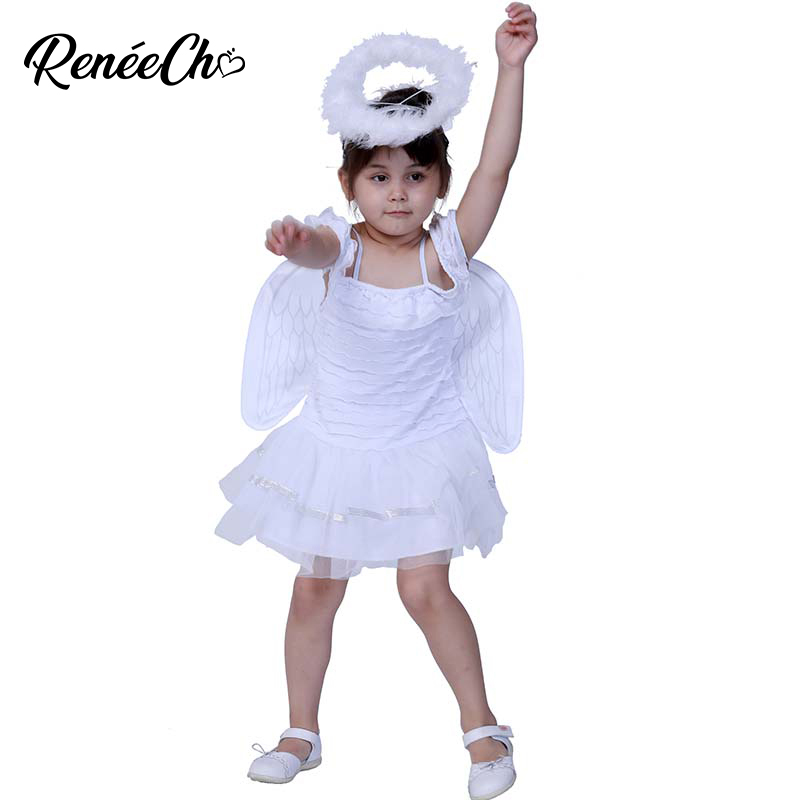 Girls Guardian Angel Halloween Costume