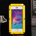 Moda EXTREMA Dropproof Dirtproof Shockproof metal Case para iPhone5 À Prova de Intempéries SE Metal Cover Gorilla Glass Retail Packaging