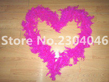 Beautiful rose 2 meters long (38-40 grams) decoration feather garment accessories wedding DIY fire feather fire tablets