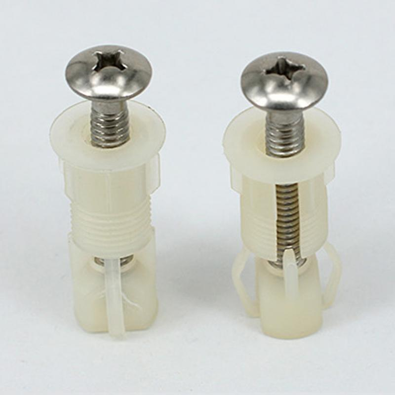 Toilet Seat Cover Close Top Fix Screws Nut Lid Pan Fixing HINGES WC//Hole Fitting
