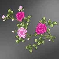 1 stuk grote bloem borduren applique patches naaien pacthes kant stof motief kleren versierd diy naaibenodigdheden