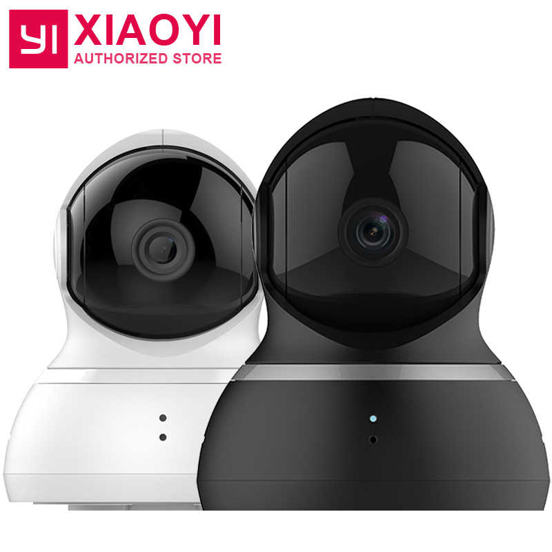 [International Edition] Xiaomi YI Dome Camera 1080P 112 Degree Wide Angle  360 Degree View Night Vision 2 Way Audio IP Webcam