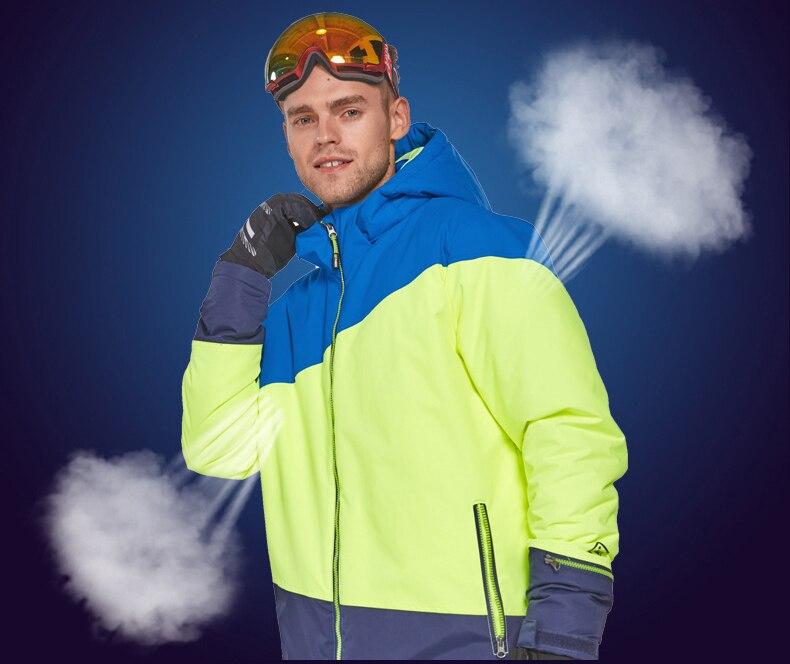 Esqui roupas de Esqui dos homens Quentes