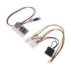 DC 12V 160W 24-Pin ATX przełącznik zasilacz samochód Auto Mini ITX moduł zasilania kabel DropShip
