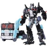 Transformação Robô A Última Noite em que Age of Extinction Classe Deluxe Figura Brinquedos Colecionáveis Guarda Exclusiva Escuro