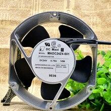 Новый оригинальный MADC24Z4-601 инвертора вентилятора 24 В 0.79A 18 Вт 17 см 17251