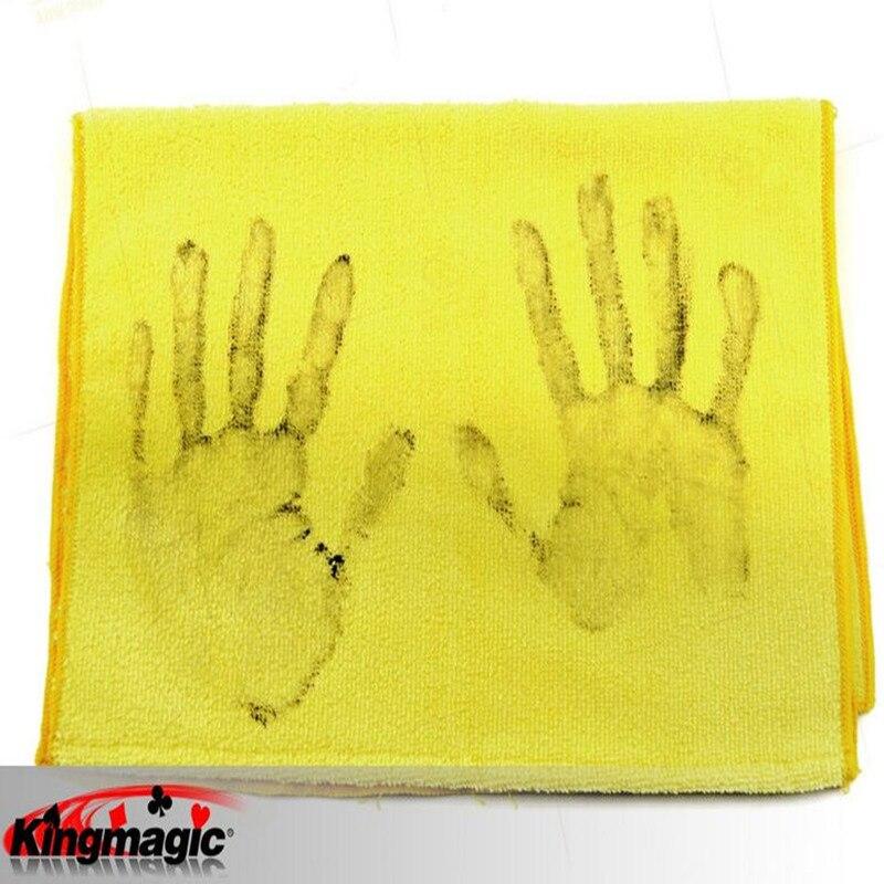 Çirkli Əl Gag Qara Əl Dəsmal King Magic Props Funny Magia - Klassik oyuncaqlar - Fotoqrafiya 3