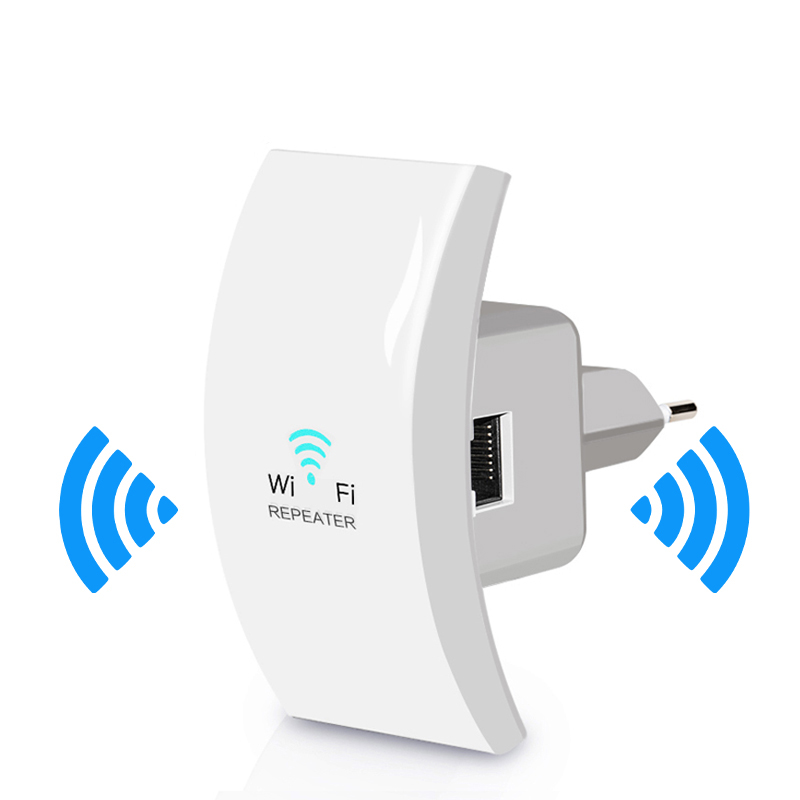 Wireless Wifi Amplifier Repeater Fi-Extender Signal 300mbps Access-Point Long-Range 1