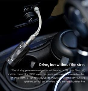 Image 3 - FiiO Sport Bluetooth amplificatore 5.0 BTR1K Ricevitore Audio con APTX/AAC/APTXLL Supporto, NFC Pairing, DAC USB, Tipo C Porta